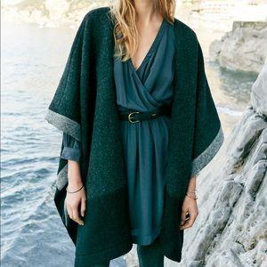 Madewell Blanket Cape